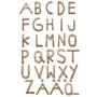 Clicko - ABC-plansch träbokstäver