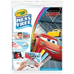 Crayola, Disney Cars 3 - Color Wonder