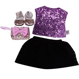 Design a Friend, Sparkle Party dress