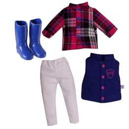 Design A Friend, Horse Riding Outfit