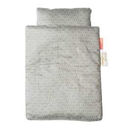 Done By Deer, Sängkläder till docksäng grå