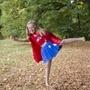Den Goda Fen, Superhjälteklänning Superwondergirl 4-6 år