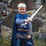 Den Goda Fen, Riddartröja med Luva Blå 4-6 år
