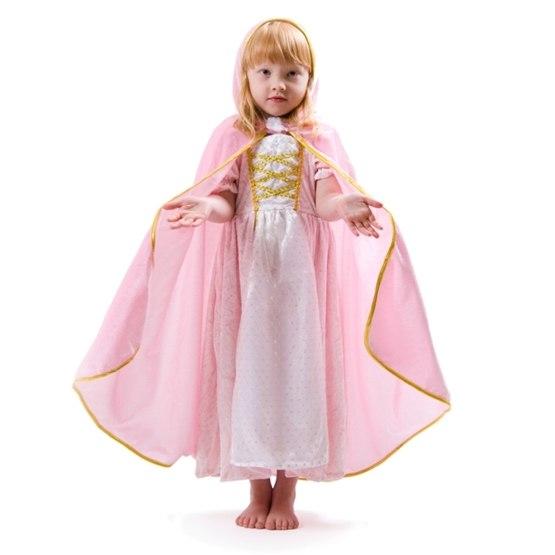 Den Goda Fen, Prinsessmantel Guldmotiv 4-8 år
