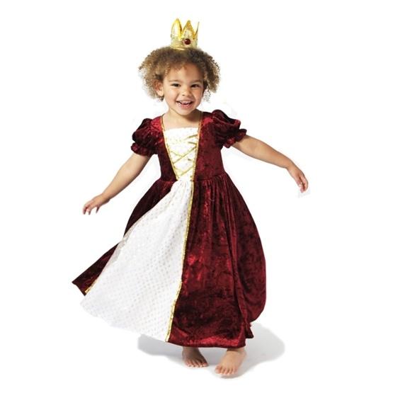 Den Goda Fen, Prinsessklänning Röd 4-5 år