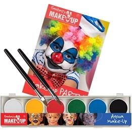 Den Goda Fen, Ansiktsfärger 6 st & pensel