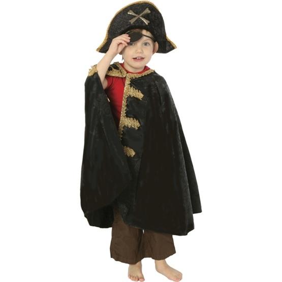 Den Goda Fen, Piratmantel Gulddetaljer 4-8 år