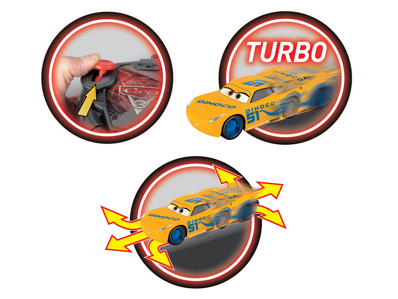 Disney Cars 3, R/C Cruz 1:24 - Dickie Toys - Litenleker.se