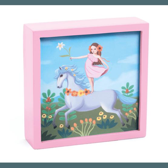 Djeco - Magical Nightlight - Fairy Unicorn