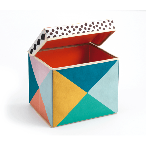 Djeco - Seat Toy Box