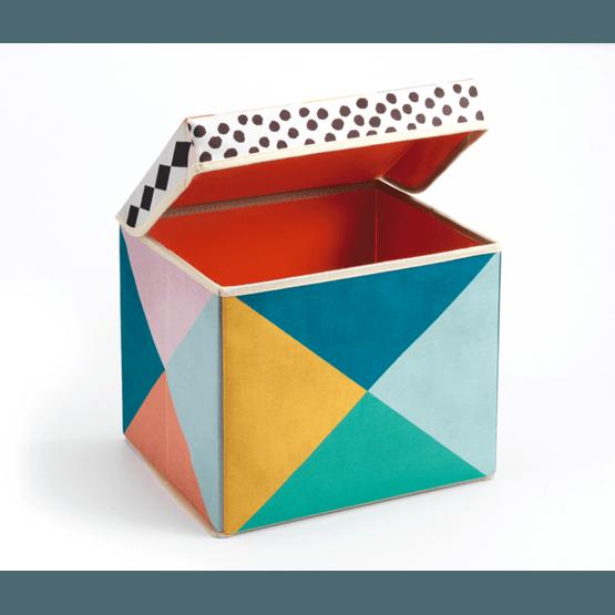 Djeco - Seat Toy Box