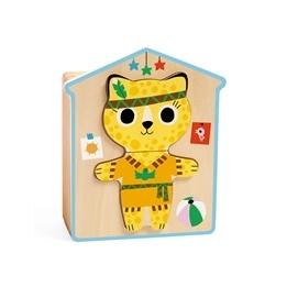 Djeco - Wooden Puzzle - Dressup-Mix