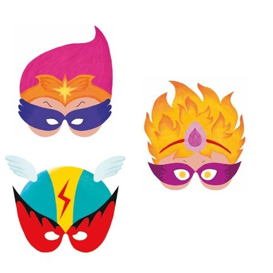 Djeco - Mask Super Hero