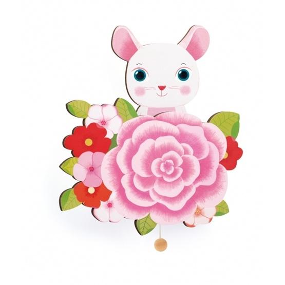 Djeco - Wall Musical Box - Mouse