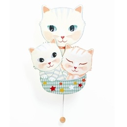 Djeco - Wall Musical Box - Kittens