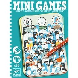 Djeco - Mini Games - Where Are You