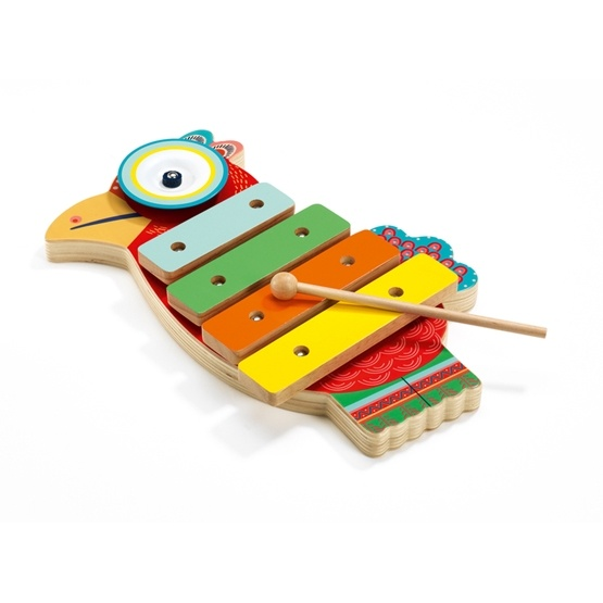 Djeco - Cymbal And Xylophone