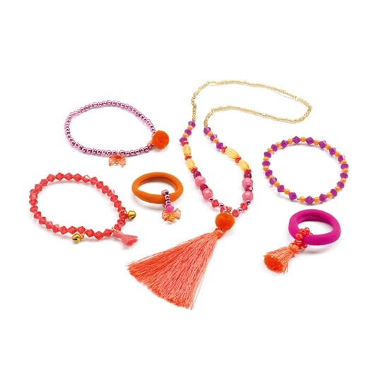 Djeco - Juwels Pompoms And Ribbons