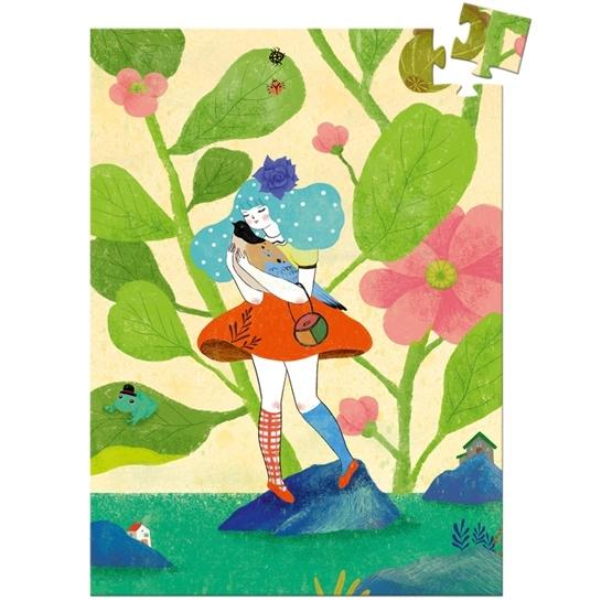 Djeco - Mini Puzzle - Miss Chichi