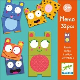 Djeco - Memo - Funny Animals