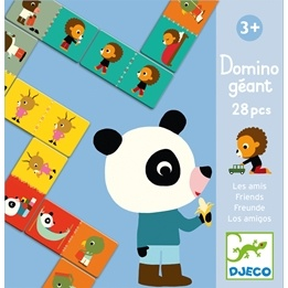 Djeco - Domino Giant - Friends