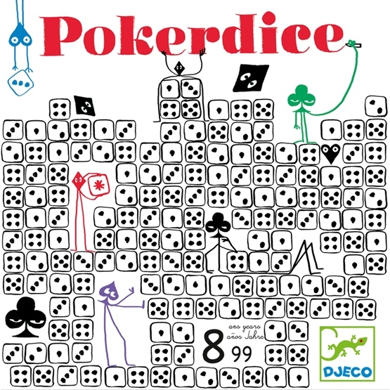 Djeco - Games - Poker Dice
