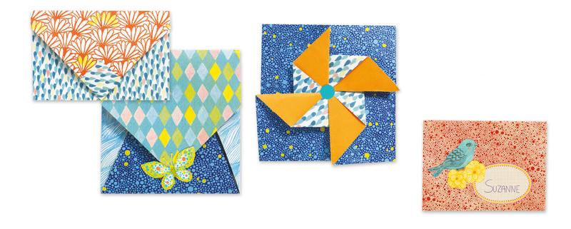 djeco origami little envelopes litenlekerse
