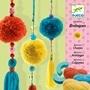Djeco - 3 Beads Pompom