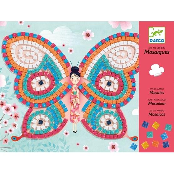 Djeco - Mosaic - Butterflies