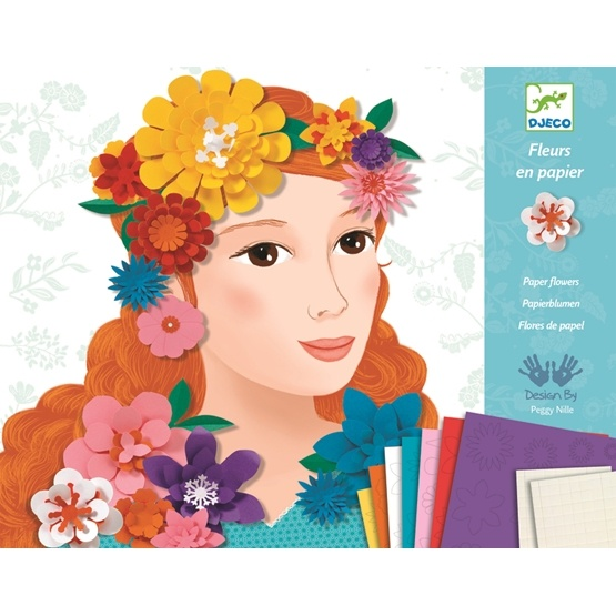 Djeco - Young Girls In Flowers