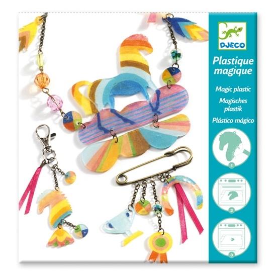 Djeco - Magic Plastic - Rainbow Horse