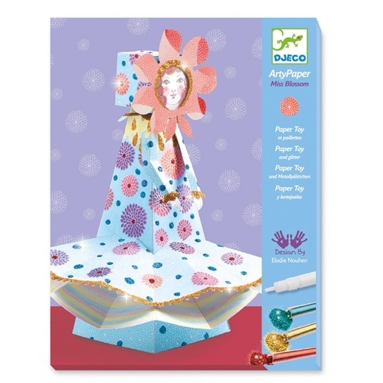 Djeco - Arty Paper - Miss Blossom