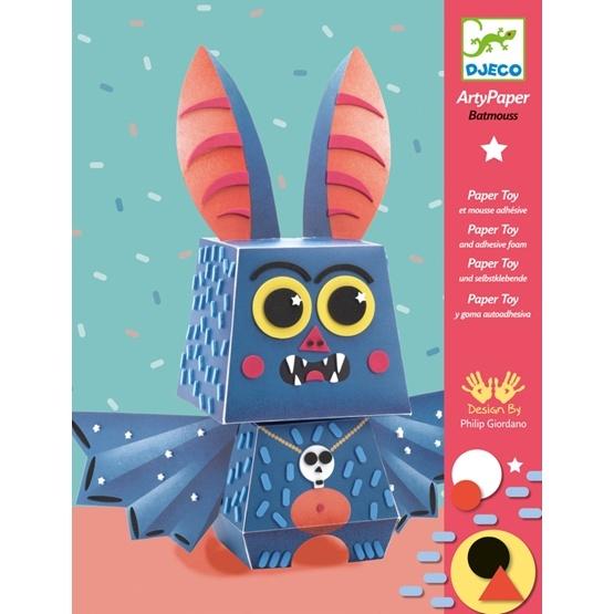 Djeco - Arty Paper - Batmouse