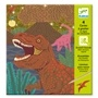 Djeco - Scratch Card - When Dinos Reigned