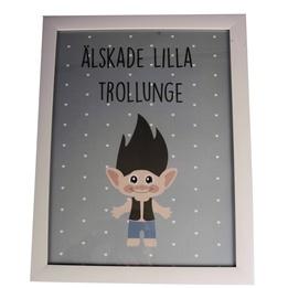 FORM Living, Tavla Trollunge Pojke 30x40 cm