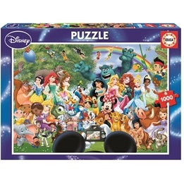 Disney, The Marvellous World Of Disney II 1000 bitar