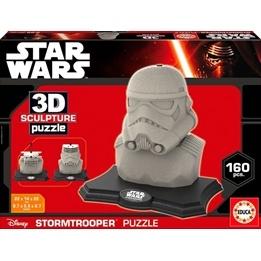Educa, Star Wars 3D Pussel Stormtrooper 160 bitar