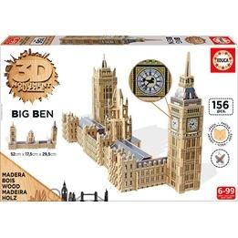 Educa, 3D Big Ben Pussel 156 bitar