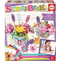 Educa, Scrapbook - Skapa dina blommor