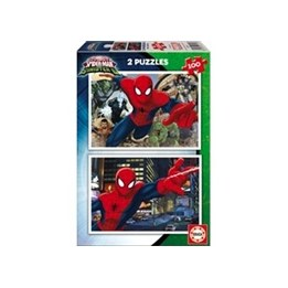 Educa, Pussel - Ultimate Spiderman 2x100 bitar