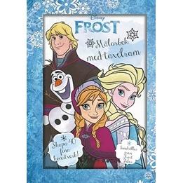 Disney Frozen, Målarbok med tavelram