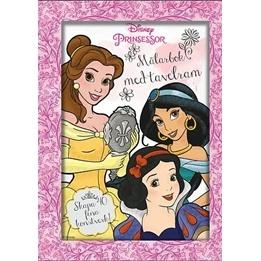 Disney Princess, Målarbok med tavelram