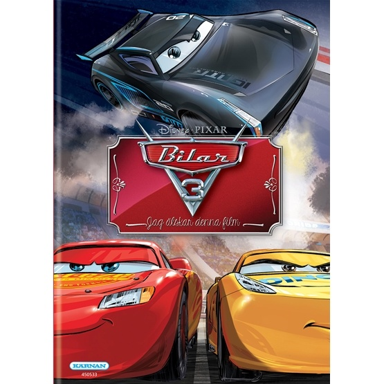 Disney Cars 3, Filmboken