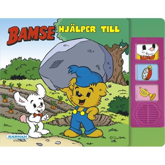 Bamse, Ljudbok - Bamse hjälper till