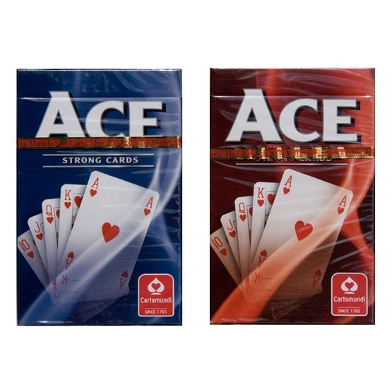 Ace, Poker-kortlek Röd