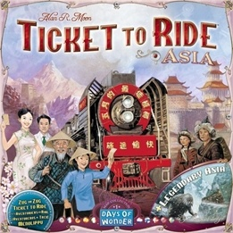 Days of Wonder, Ticket to Ride: Asien