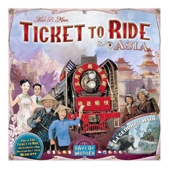Days of Wonder, Ticket to Ride: Asien