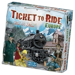Days of Wonder, Ticket to Ride: Europe