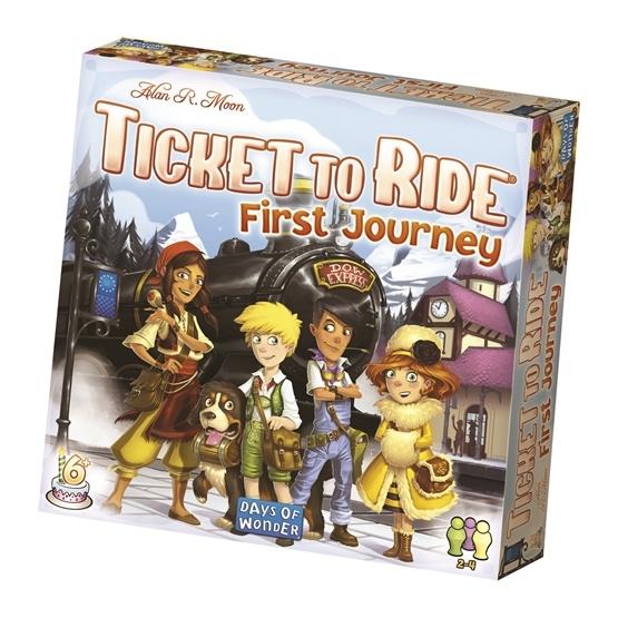 Days of Wonder, Ticket to Ride: First Journey