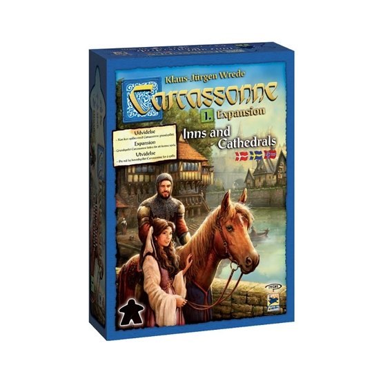 Carcassonne, Inns & Cathedrals Expansion